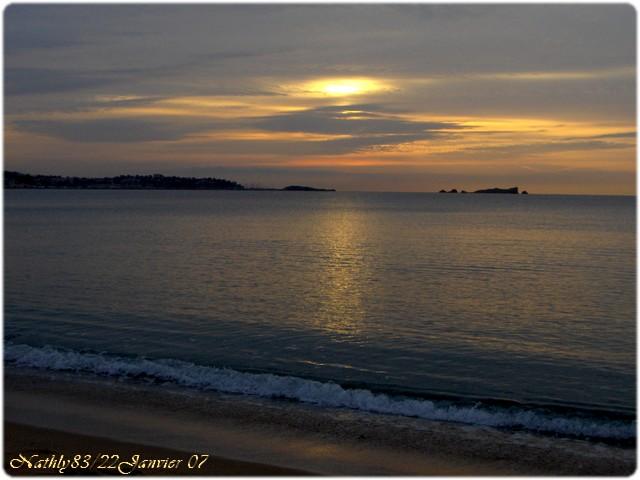 8 H 30 Fréjus plage le 22 janvier 07